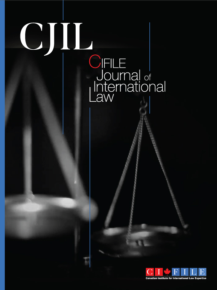 CIFILE Journal of International Law
